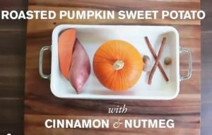 Pumpkin and Sweet Potato baby food