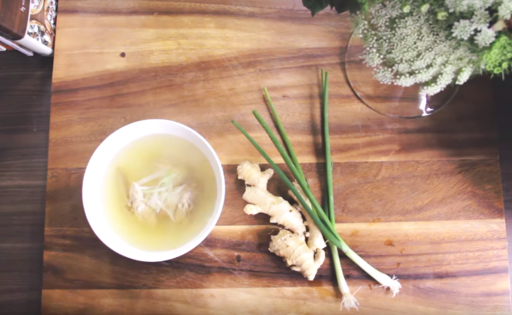 Baby Food | chicken & bone broth with ginger