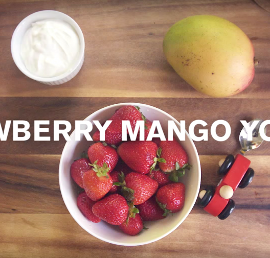 Baby Food | Strawberry & Mango Yogurt