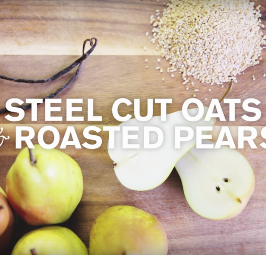 Baby Food |Roasted Pear & Vanilla Oatmeal