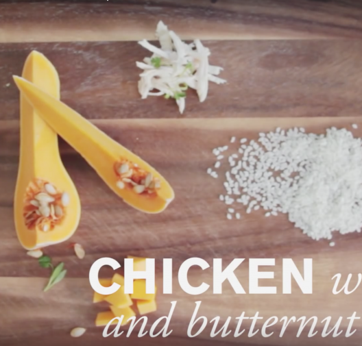 Baby Food | Chicken, Rice & Butternut Squash