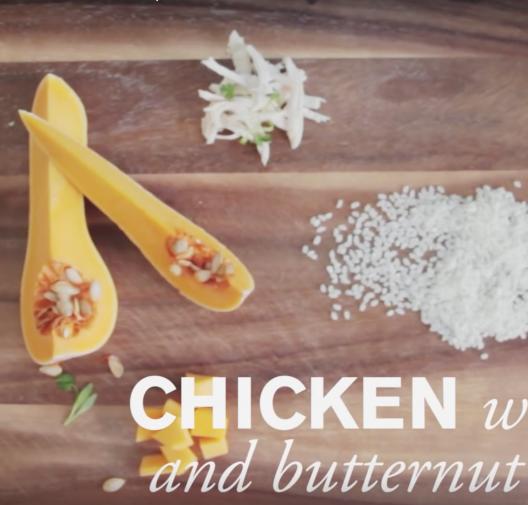 Baby Food | Chicken, Rice & Butternut Squash