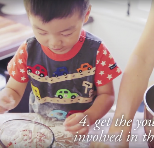 TIPS for GETTING KIDS IN THE KITCHEN: Find the zen