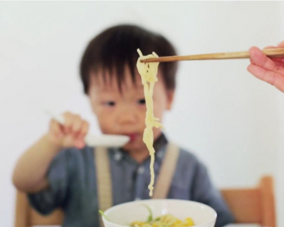 Tips on Cooking for Kids: A Plate Half Full Philosophy